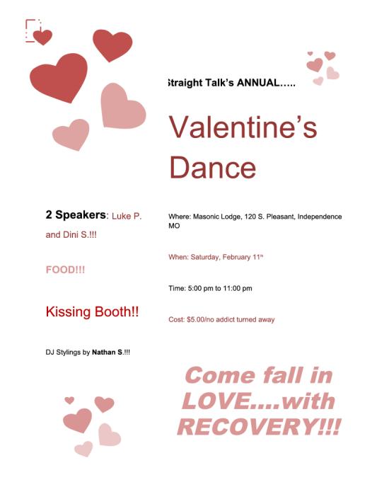 Straight Talk Valentine's Dance